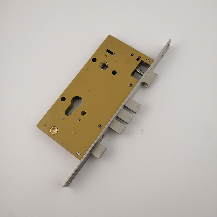 India lock stainless steel yellow baldwin mortise lock installation (MLE013)