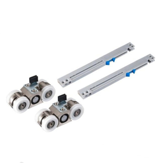 Double Soft Closing Sliding Door Roller Hanging Sliding Door Wheel Sliding Door Damper