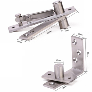 SSS Stainless Steel 304 Sliding Door Hinge Accurate Offset Pivot Hinge