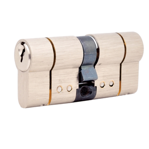 Satin SN High Security Euro Cylinder Locks Door Lock Hardware Brass Cylinder Lock