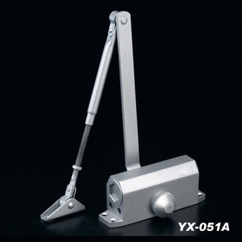 Casting Aluminum Alloy Automatic Door Closer Concealed Fire Rated Door Closer