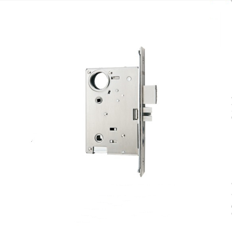 Modern Luxury Zinc Alloy Handle Entrance Front Door Lock Mortise Door Lock Set