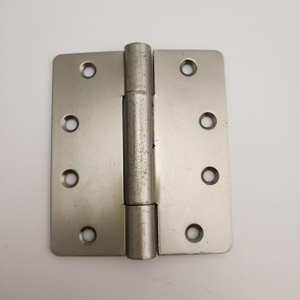 4 In. X3-1/2inX2.7MM. South Korea style modern folding metal hardware accessories furniture SNP steel/ iron radius metal round corner door hinge