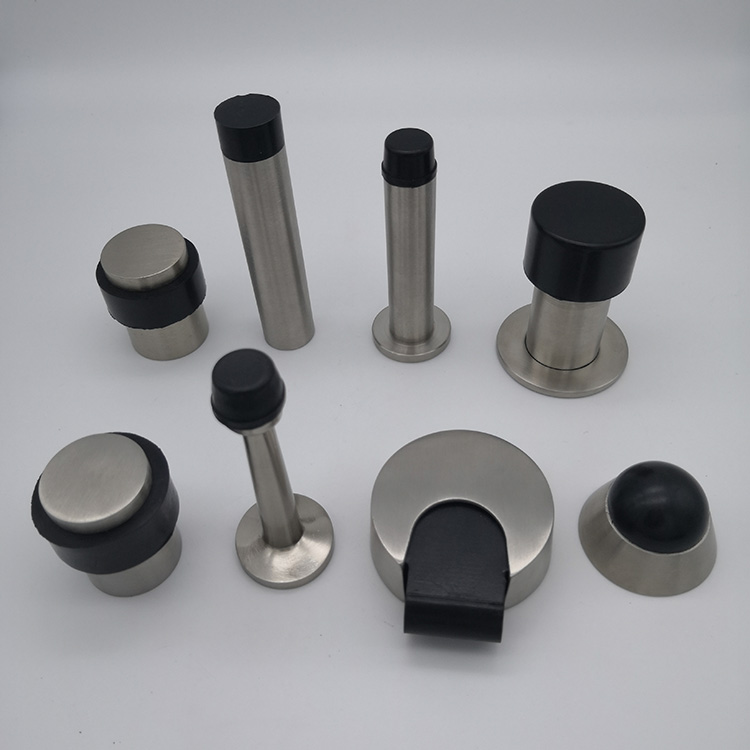 SSS stainless steel rubber door stop(DS039-SSS)