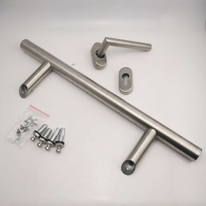 China Supplier New Design Lighting 304 LED Glass Door Handle Stainless Steel