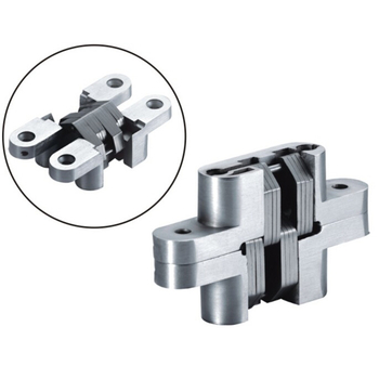Good Quality Zinc Alloy 180 Degree Concealed Hinge Spring Hinge Invisible Hinge