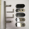 Stainless Steel Glass Door Fitting Level Handle Lock Hardware