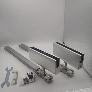 glass sliding door rolling system Sliding Door Soft Closing Hanger Roller Sliding Door Closer