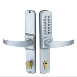 Silver Zinc Alloy Numeric Keypad Lock Mechanical Door Combination Safe Lock