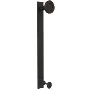 Barn Door Cast Iron Pull Handle For Wooden Sliding Door slided flat pull with knob