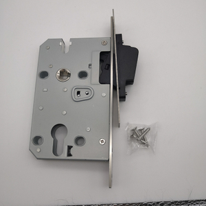 Satin Nickel Magnetic Mortise Lock For bathroom Function 7250/5850/5845/7255