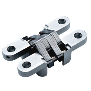 Low Price 25*118mm Zinc Alloy Heavy Duty Invisible Concealed Hinge for Wooden Cabinet Door