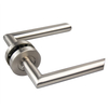 SSS 19 Diameter 304 Stainless steel Safety Door Handle For Wooden Interior Door