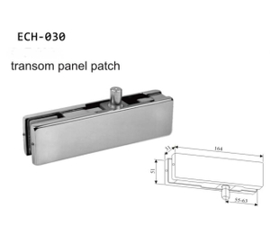 Satin 201 Stainless Steel Glass Door Patch Fitting