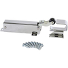 Stainless Steel Refrigerator Hydraulic door closer spring action door closer , Exposed with Flush to 3/4 Inch Hook